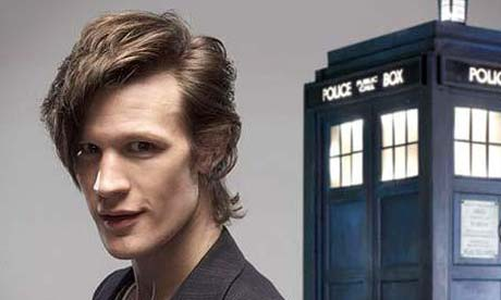 And this is Doctor 11: Matt Smith.