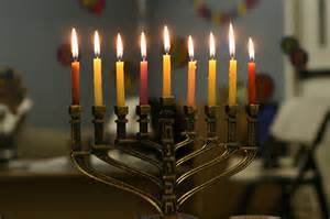 The biggest miracle of Hanukkah is that you get to use the same candles your Grandmother bought on clearance 20 years ago every year.