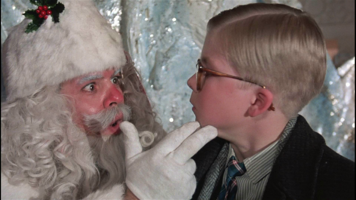This Santa always freaked me out.