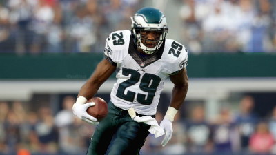 This is the only known image of Demarco Murray in an Eagles uniform where he's NOT surrounded by defenders.