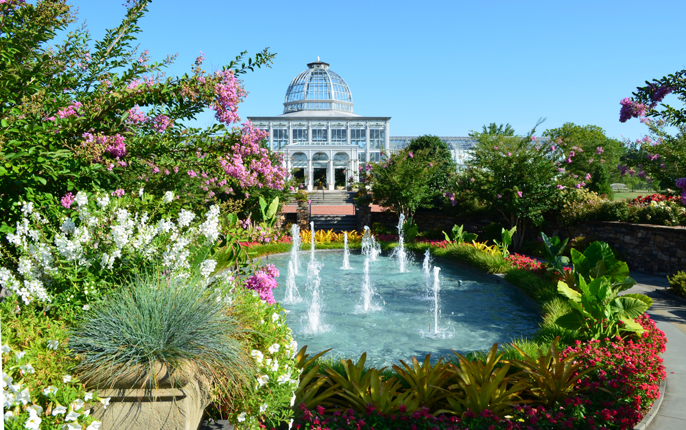 Be Inspired At Lewis Ginter Botanical Garden Outrva