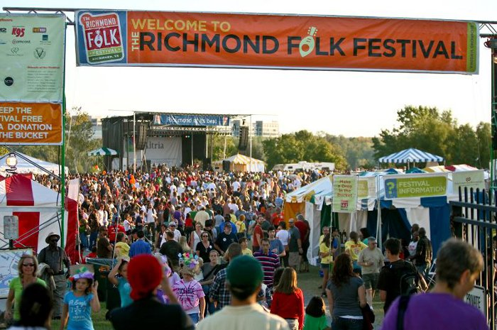 Photo Credit:  Richmond Folk Festival