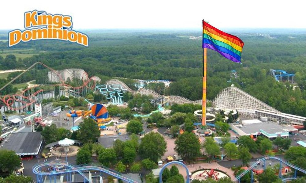 Pride Night at Kings Dominion — OutRVA