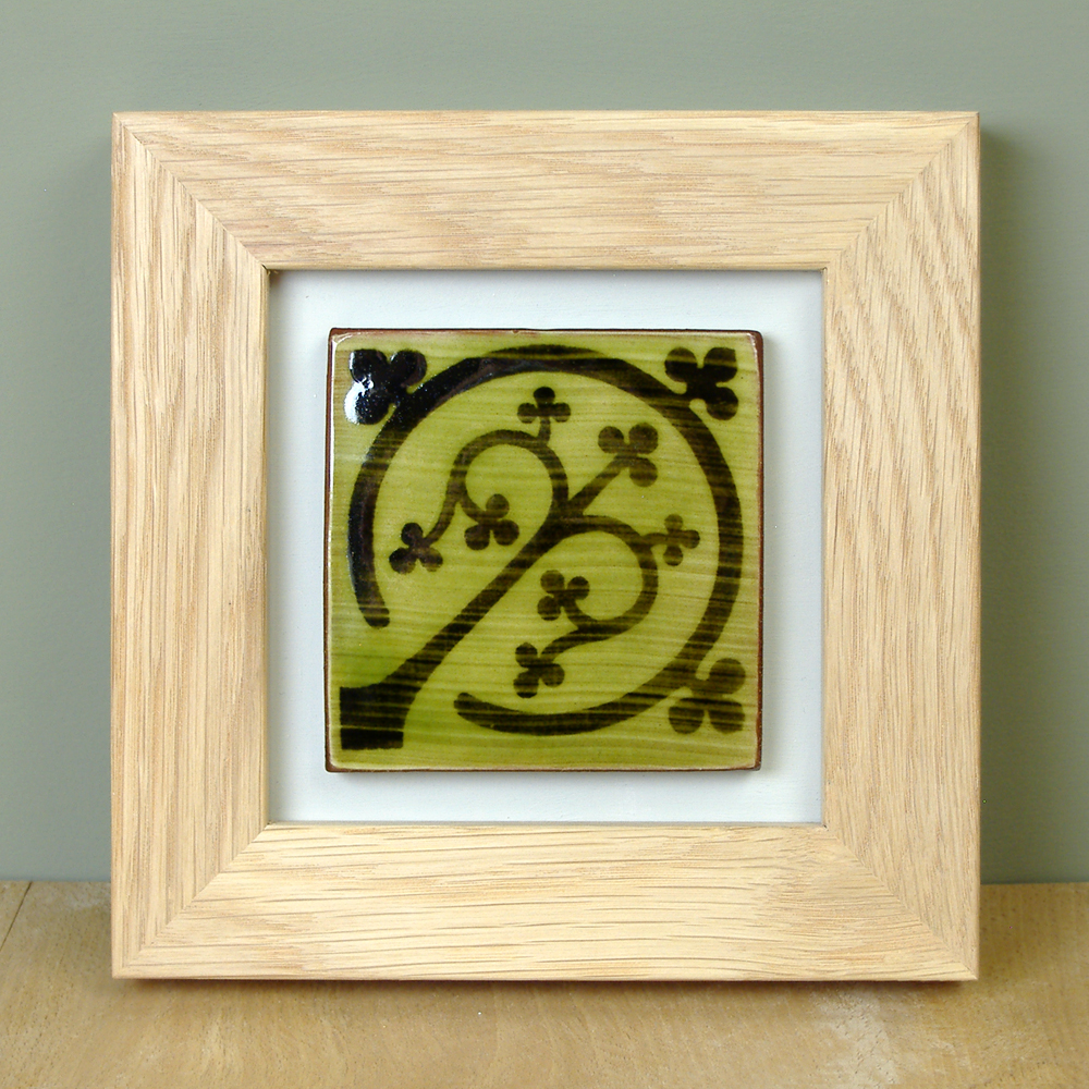 Win this Framed Hand-made tile!