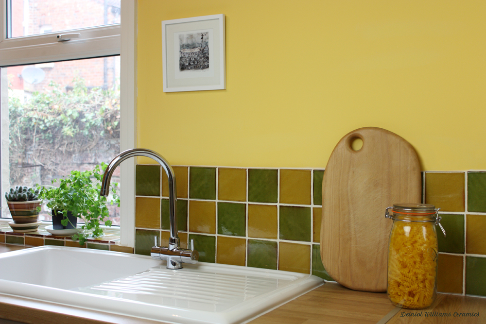 Green & Yellow Wall Tiles | Traditional Range