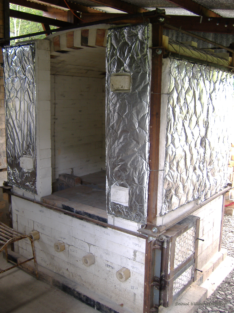 Wood kiln - 2007