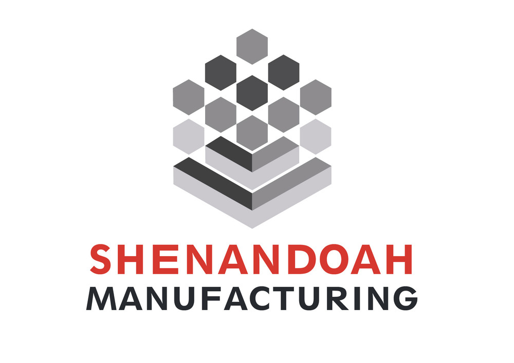 Original logo design for Shenandoah Manufacturing, located in Newnan, Georgia