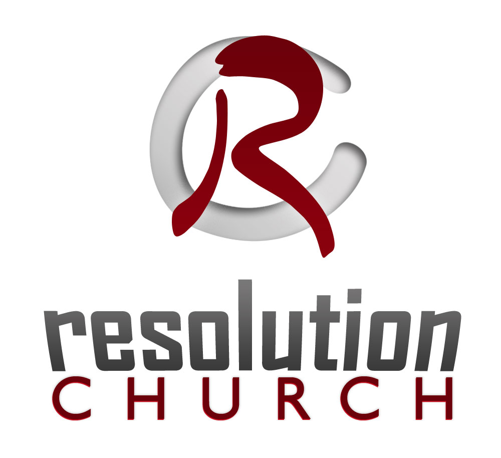 Logo design for Resolution Church in McDonough, Ga.