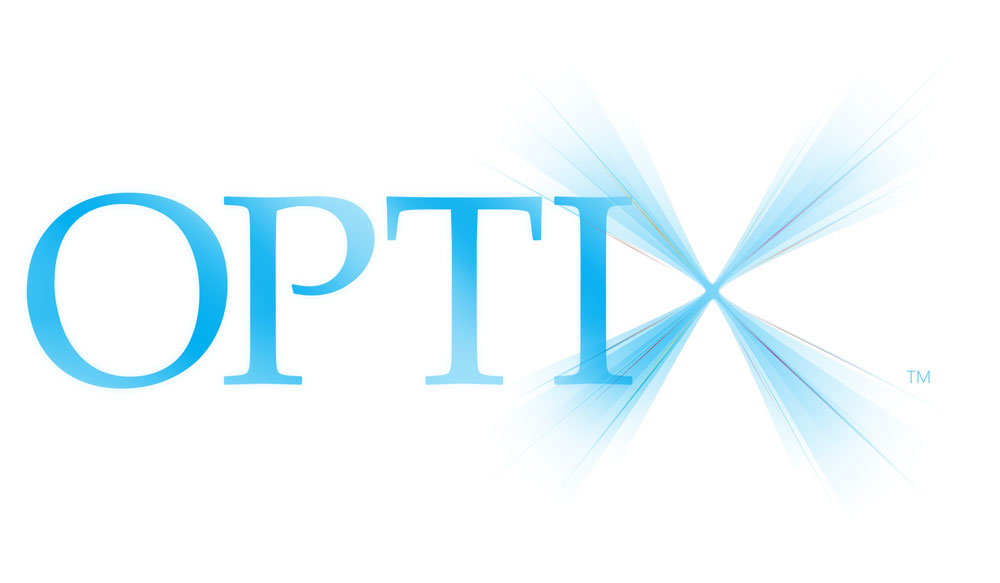 Logo design for Optix brand LED Spa Lighting