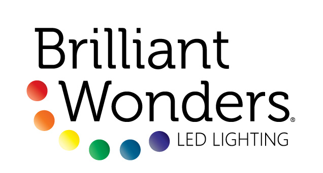 Logo design for Brilliant Wonders brand LED Lighting.