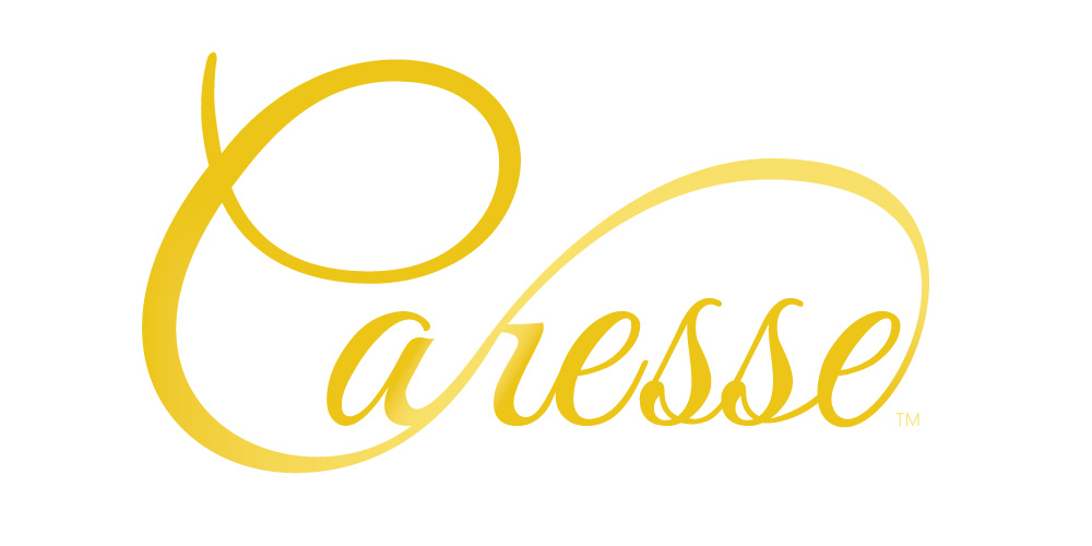 Logo design for Caresse brand bath jet system.