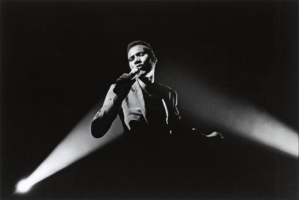Grace Jones, Nightclubbing. 1981. Gelatina de Plata virado al selenio. Edición 2/10. 49 x 74 cm.