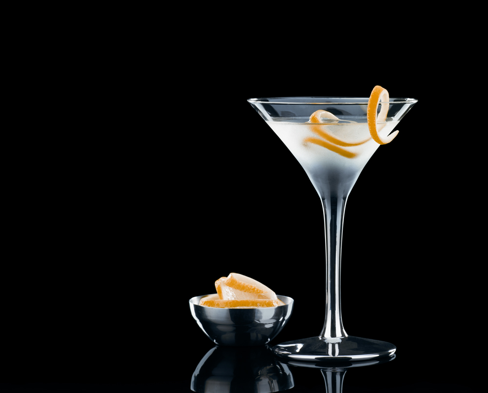Vesper Martini.