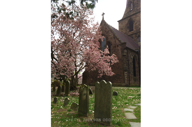 St. Mary's Episcopal Church and Cemetery, Burlington, NJ