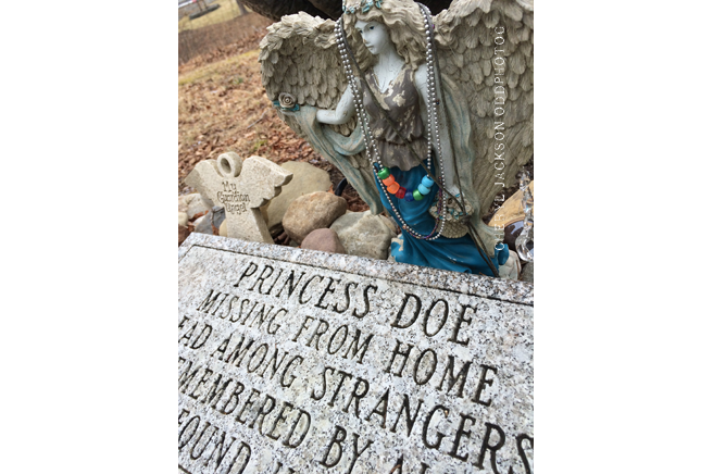 Grave of Princess Doe, Cedar Ridge Cemetery, Blairstown