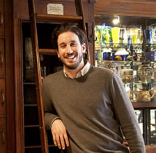 MICHAEL SCHALL Owner - General Manager Michael has always had a love of food. It wasn't until he started working in the restaurant industry at 18, that he realized he loved connecting other people to food as well. While he has worked basically every job there is inside of a restaurant, Michael's comfort and passions lie at the front of the house. After eating at Locanda with friends in 2004, he knew that the food, atmosphere, and ethos of the restaurant matched his own culinary values. He joined Locanda as a waiter a few weeks later, worked as an employee for 6 years, gradually progressing to management, and finally to owner in 2010. In that time, he has combined his talent for front of the house service with the obsessive attention to detail needed to run a restaurant smoothly from behind the scenes.