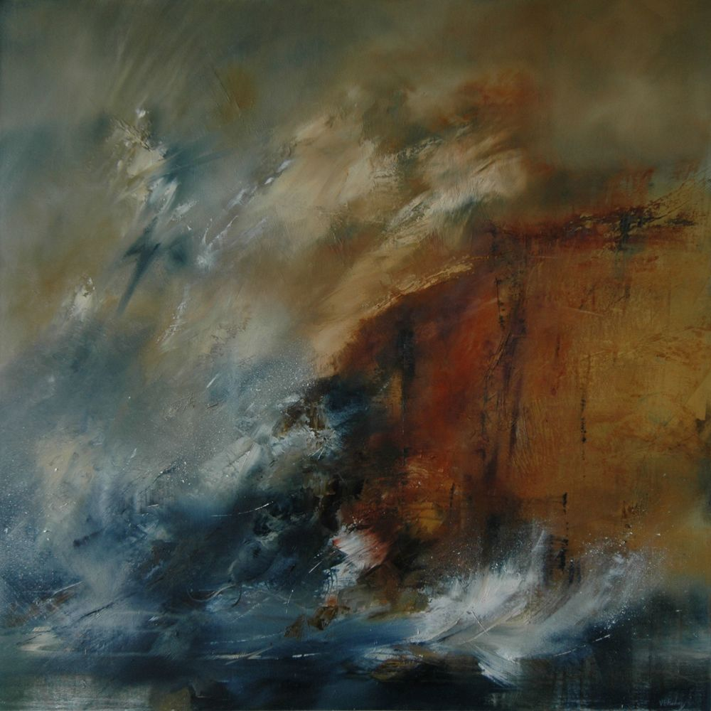 Vicky Finding - Erosion - oil on canvas - 92cm x 92cm.jpg