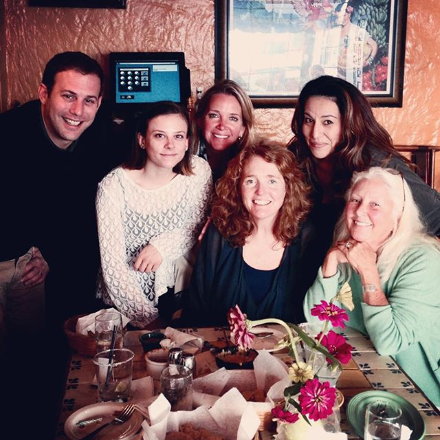 Another fun birthday lunch at Su Casa @mandacine @colorplayground @cerise_films @carmen_artesian