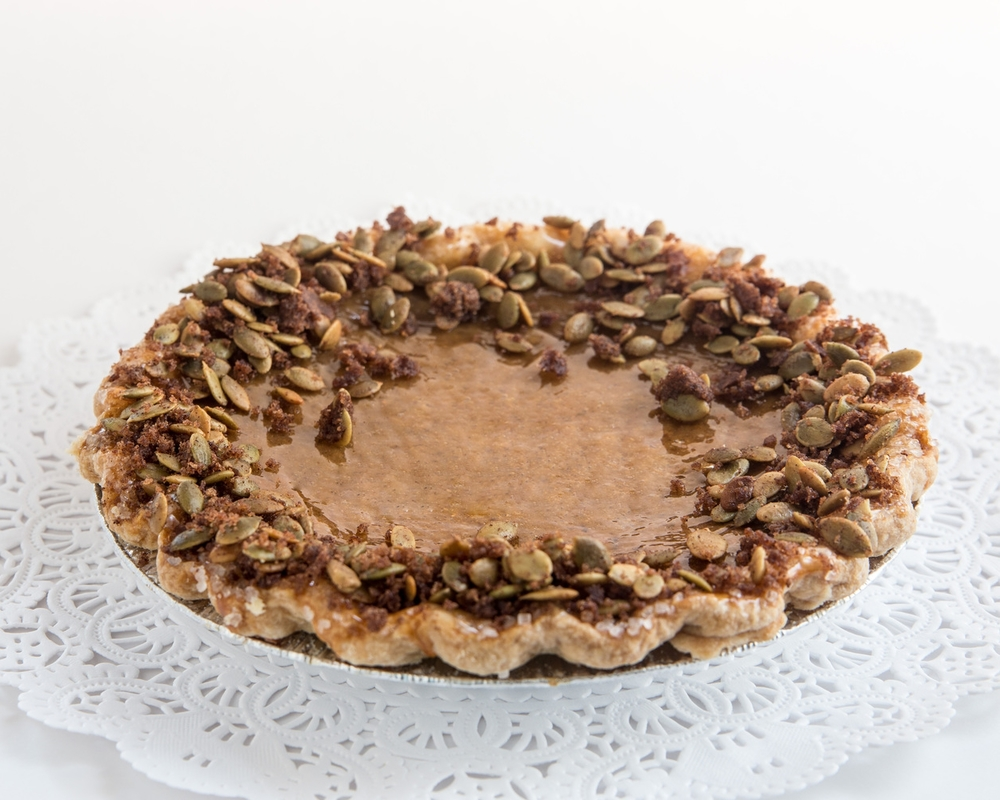 Traditional Pumpkin Pie II