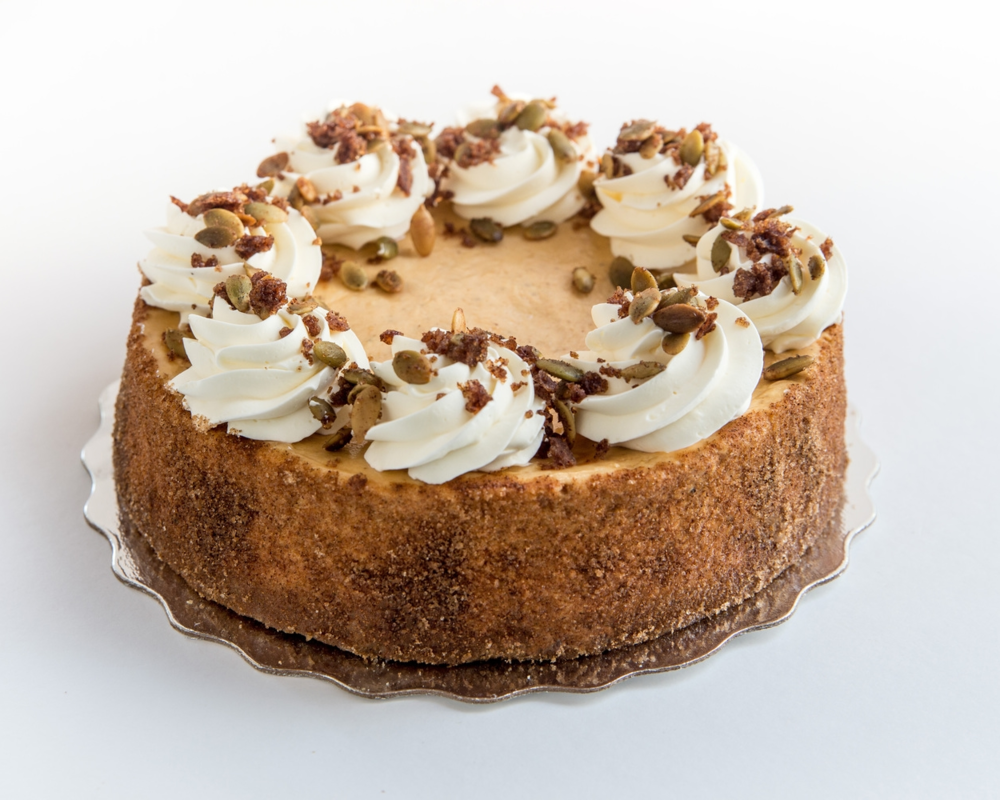 Pumpkin Cheesecake w Maple Whipped Cream
