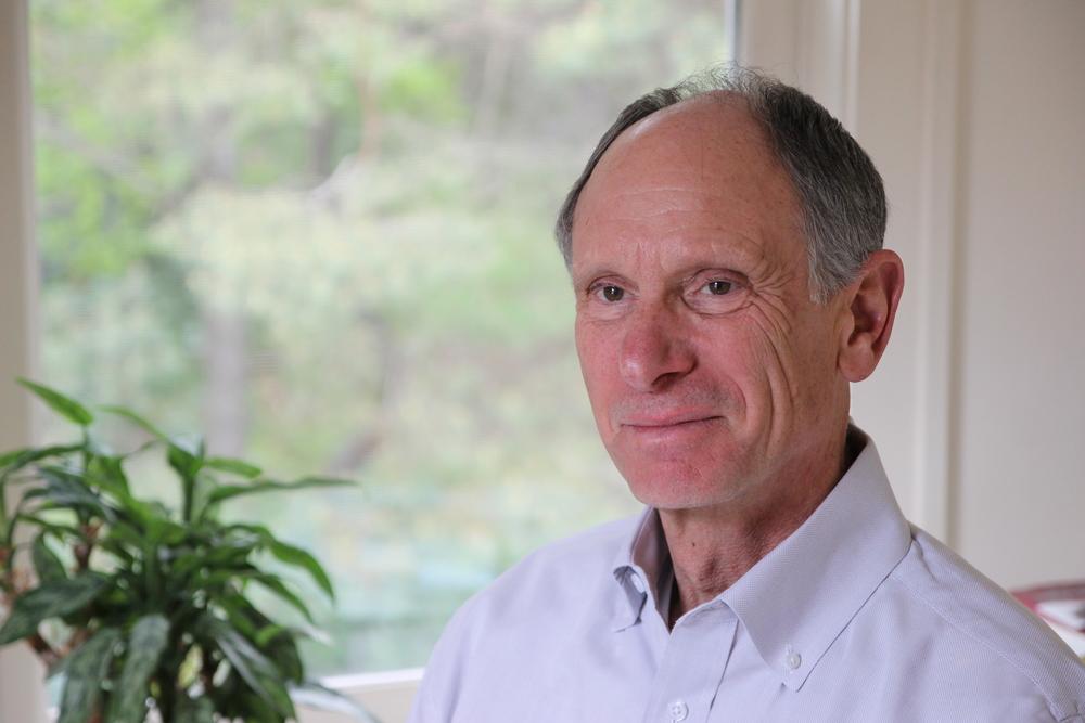 Photo of Joseph Goldstein. Photograph courtesy of the  Insight Meditation Society