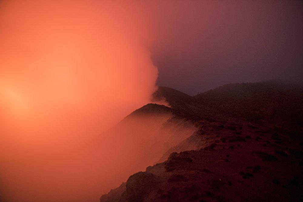 Mount Yasur volcano