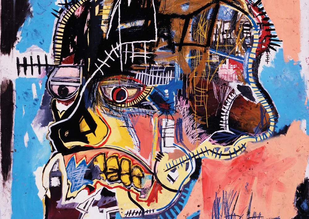 Now's the Time   Basquiat    Learn More