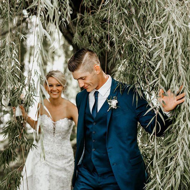 Kayla & Cody's backyard wedding from last year will always, always be a fave!
