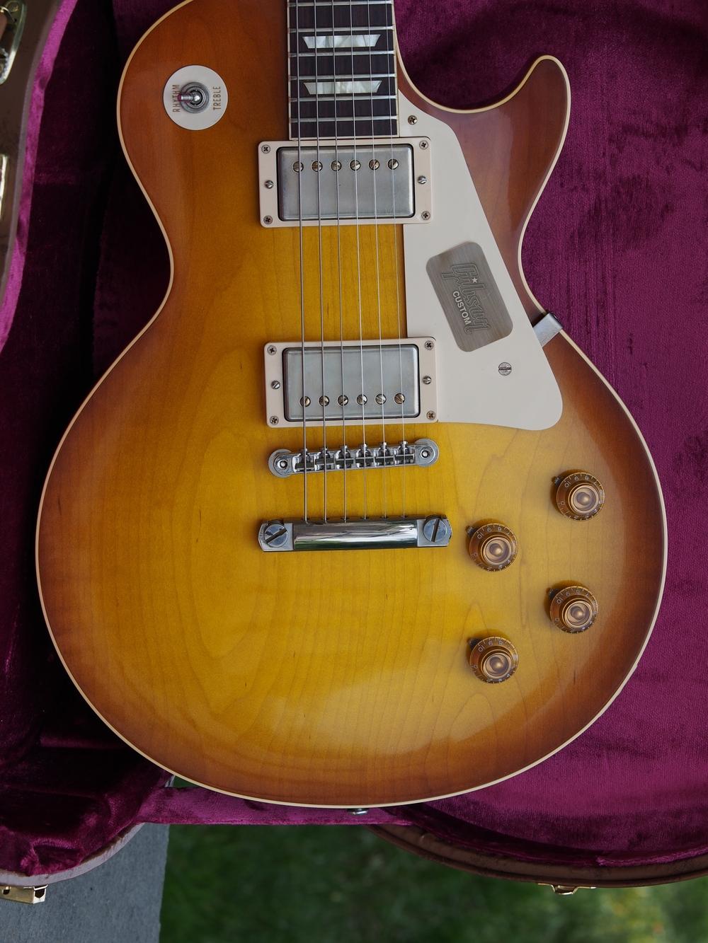 Gibson Custom Shop Historic Les Paul 1958 R8 Standard, Available