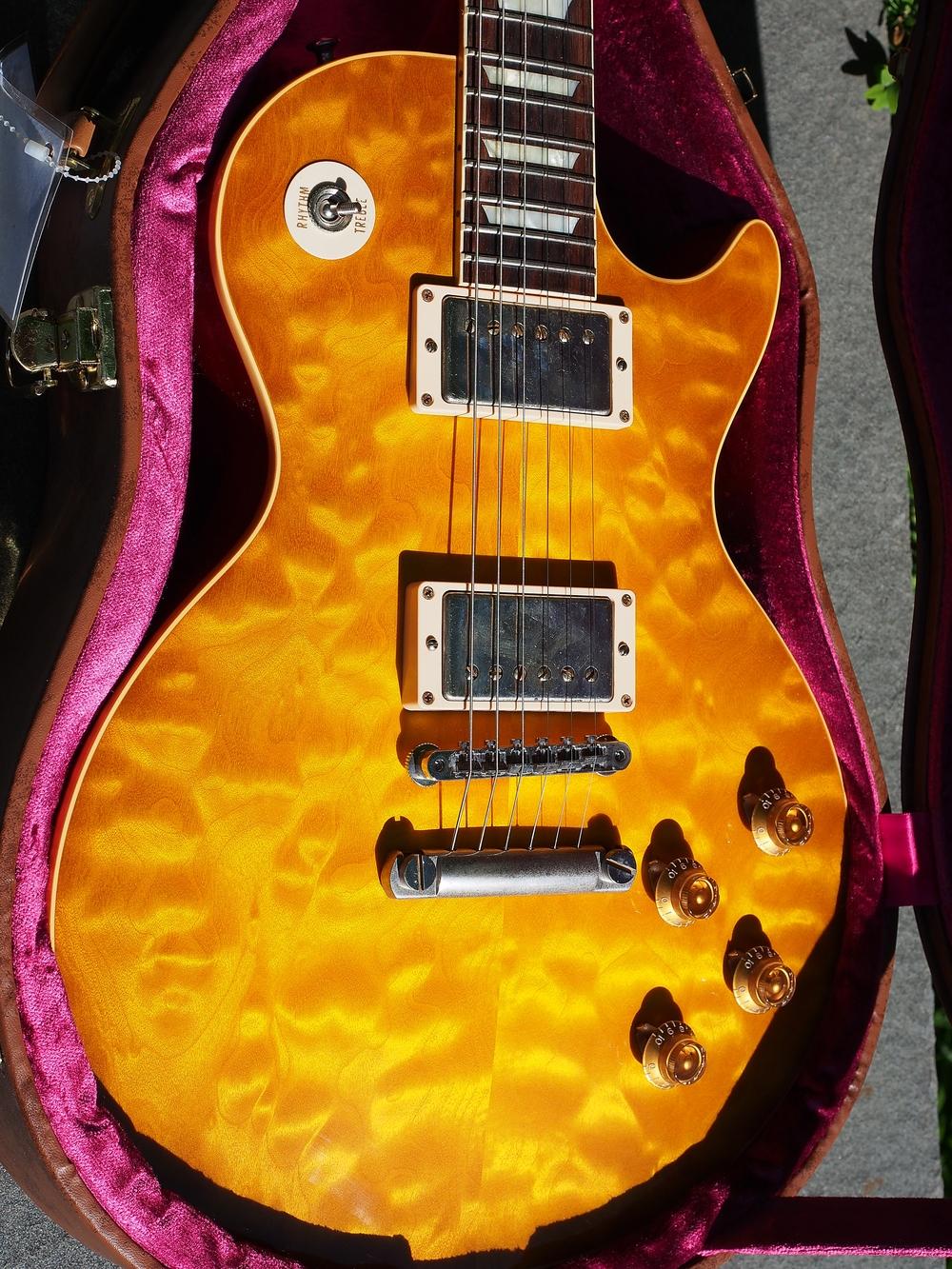 2013 Gibson Custom Shop Les Paul 1959 R9 Standard in Lemon Quilt - Available