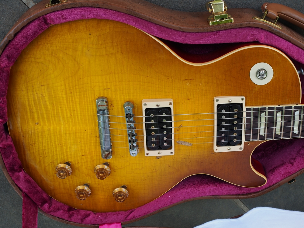 This is a 2013 Gibson Custom Shop Les Paul Aged Duane Allman 1959 R9 Standard.