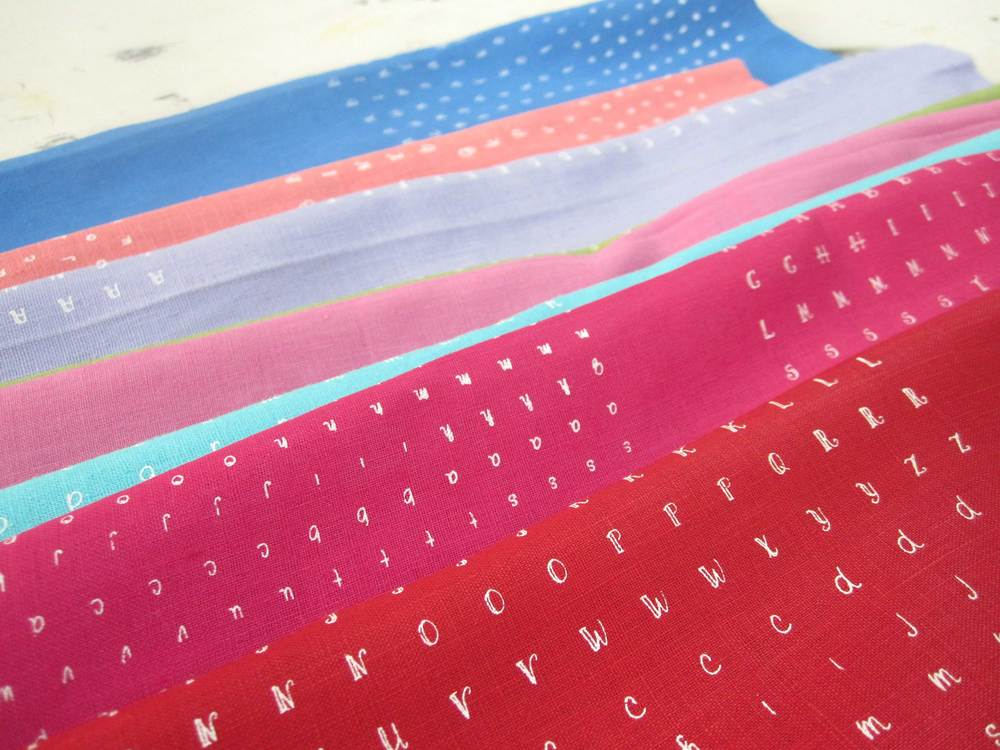 Fabric for  Marmalade     During most of my printing career, I've been reluctant to do custom printing. But a few years ago I thought, what if I only accepted great work from really interesting people, perhaps I could enjoy it? I do!  Some of my commissioned work includes fabrics for fashion designers  Susan Harris  and  Comrags ; custom prints for  Lilliput Hats : props for New New Film; prints on wood for  Commute ; canvas for painter  Geoff Farnsworth ; napkins for  Olive Authentic ; boxing shorts for  The Toronto Newsgirl Boxing Club ; posters for Red Design and much much more!