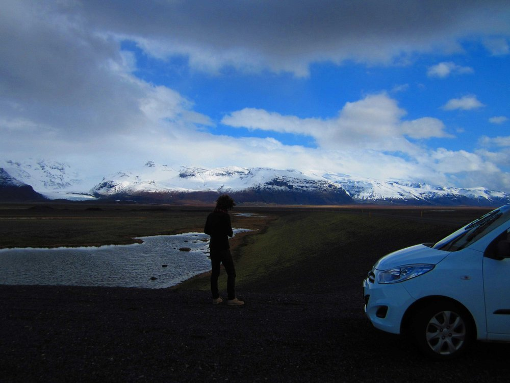 Road trip through South Iceland