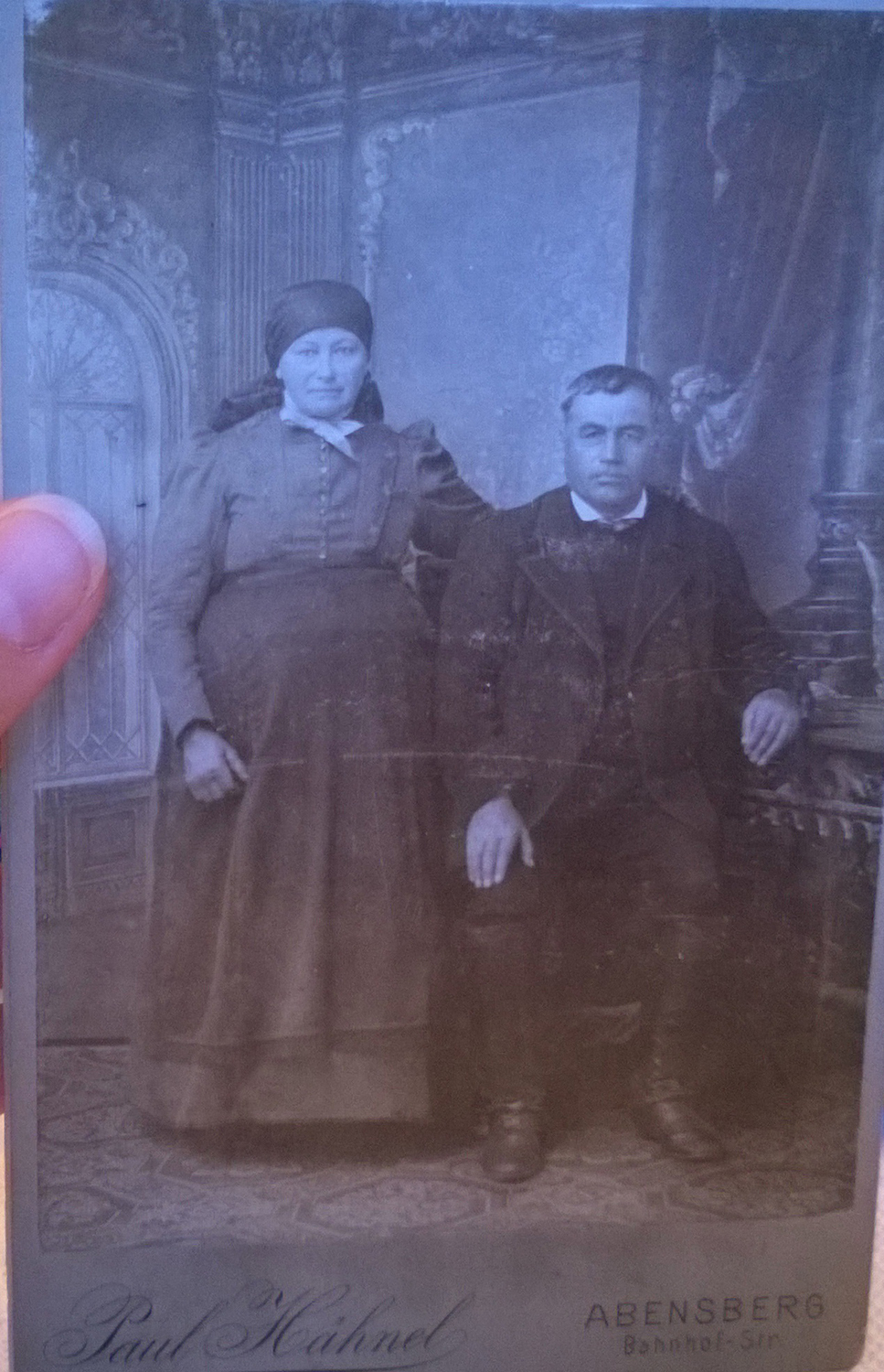 Great-great grandma and grandpa