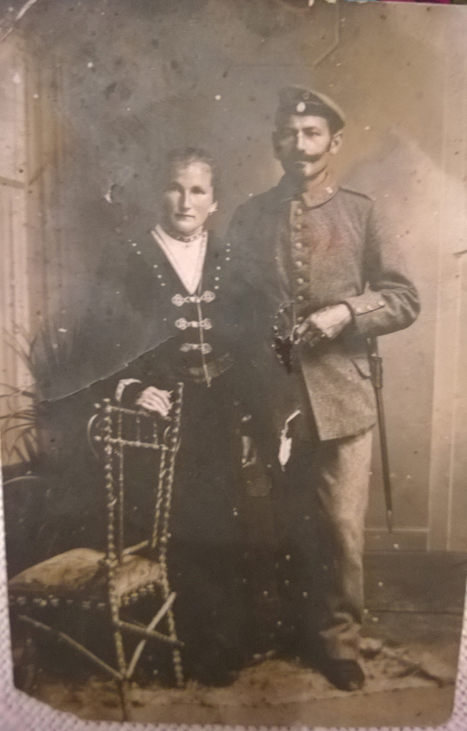 Great grandma & grandpa (Michael who bought Obermondsberg)