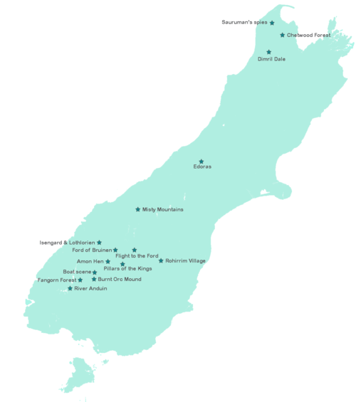 Nerding Around The South Island Lord Of The Rings Film Locations In