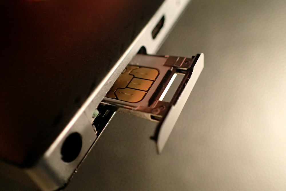 My trusty Nokia Lumia 928 has a door for easy SIM card access