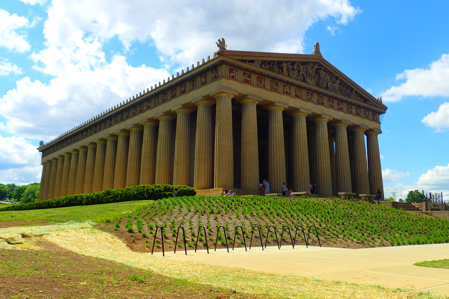 The Parthenon A Slice Of Ancient Greece In Nashville Tennessee