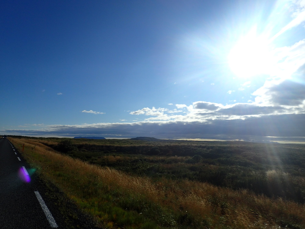 A sun-soaked drive around Iceland