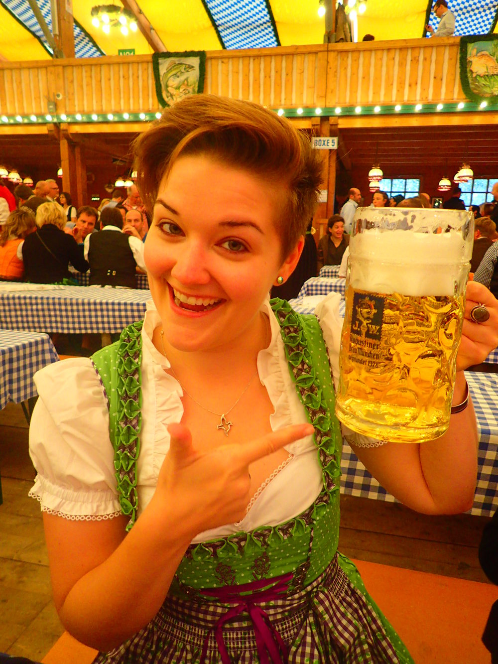 Oktoberfest in Germany was never on my bucket list, but I couldn't pass up the opportunity when it came!