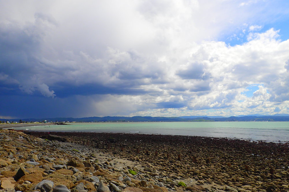 "New Zealand is known for having ""3 seasons in a day."" In other words, weather changes rapidly and frequently."