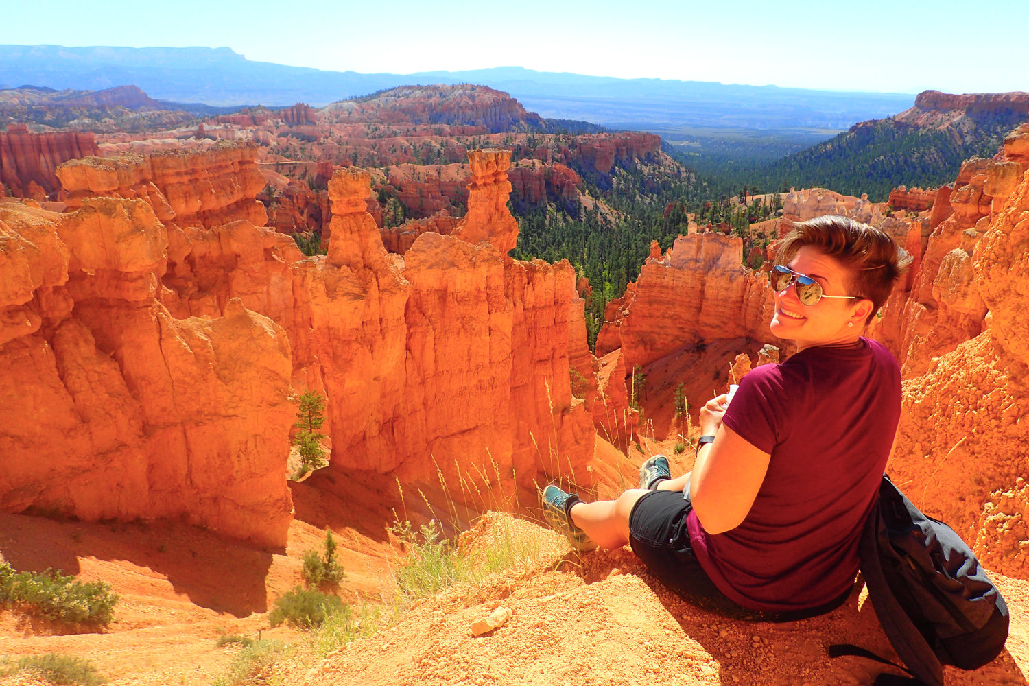 the best way to hike into bryce canyon national park deviating the