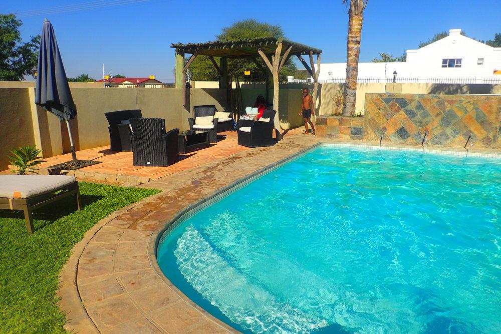 Pool at Hadassa