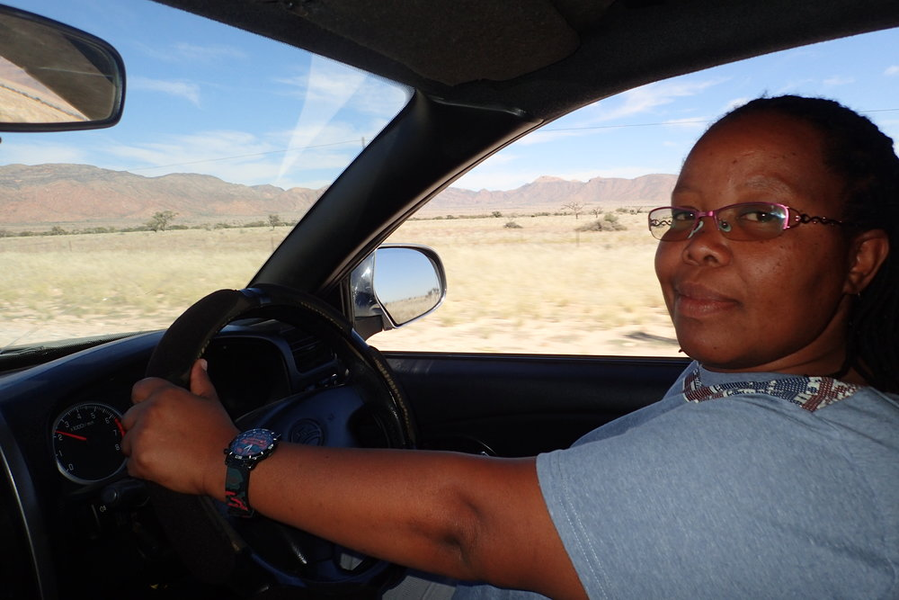 Tracey - my Sossusvlei guide!