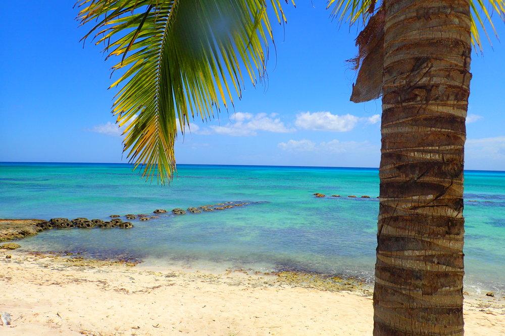 Caribbean Sea views in the DR