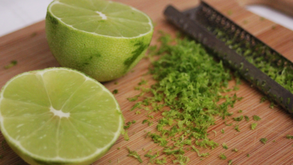(While bars are cooling get limes and coconut ready for the next batch. Recipe here)