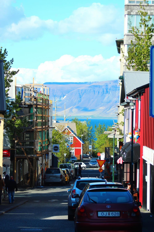Reykjavik, Iceland's colorful capital.