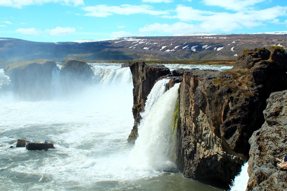 Godafoss, waterfall of the gods.