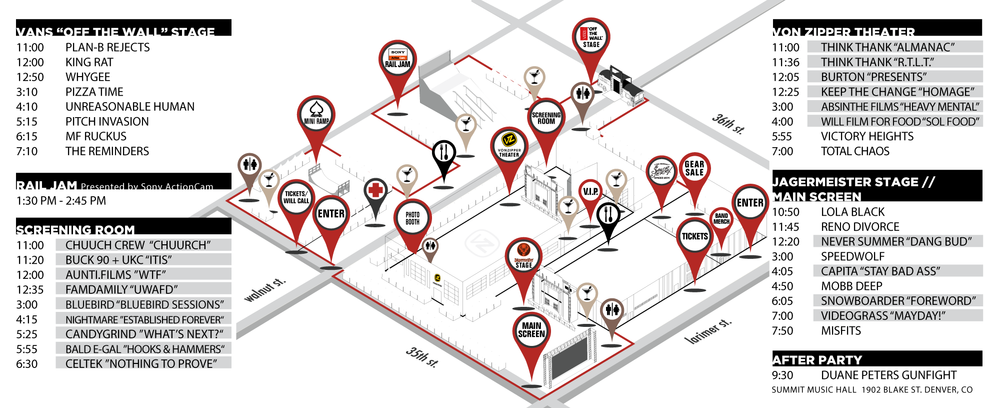 Click on the festival map to zoom in