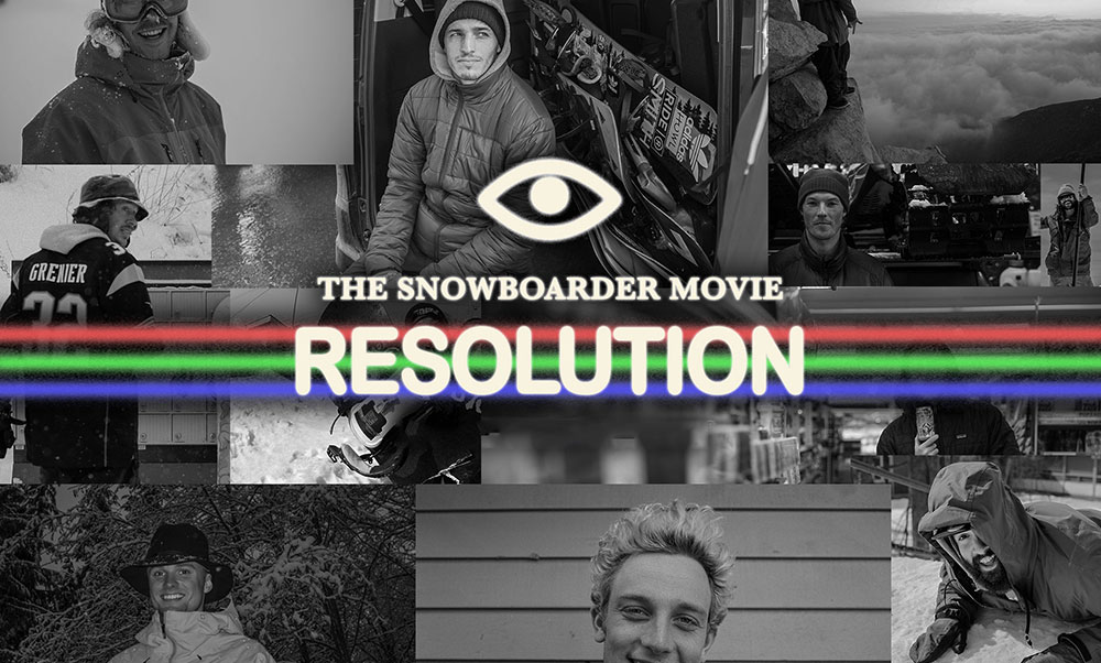 "SNOWBOARDER ""RESOLUTION"""